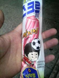 韓国パクチソンのアイス