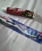 インドの歯磨きセット
