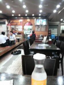 韓国の大衆食堂