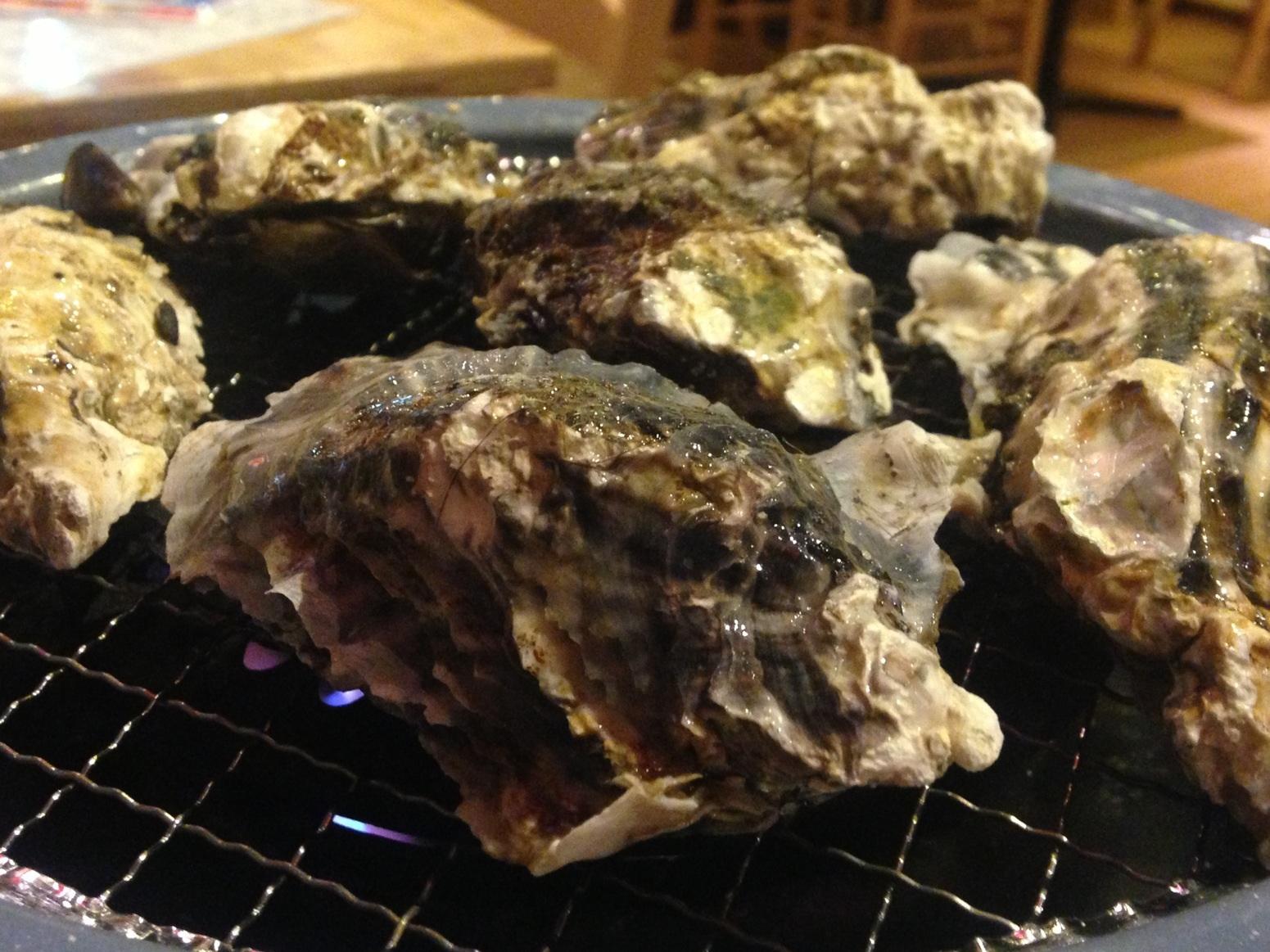 牡蠣食べ放題の牡蠣