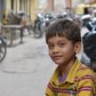 インド、ニューデリーの子供
