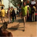 【インド〜ネパール旅動画「コロンキー少年」(63話)着く。ガンジス川】