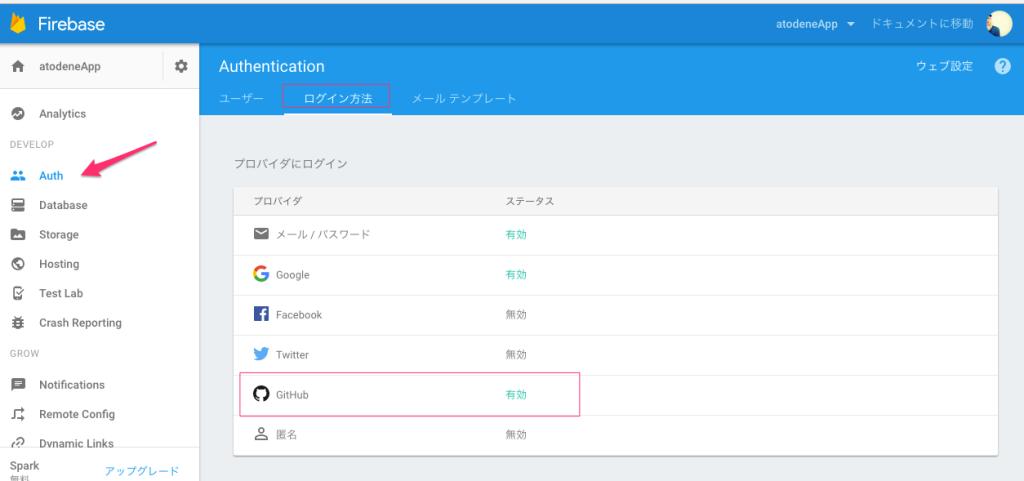【Firebase | 簡単】GitHub認証の設定の方法