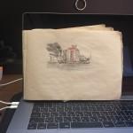 【moriken_enikki】友達のイラストレーターに勧められて絵日記始めました