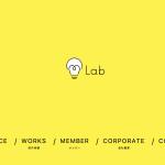 「株式会社m-Lab」のHP作りました