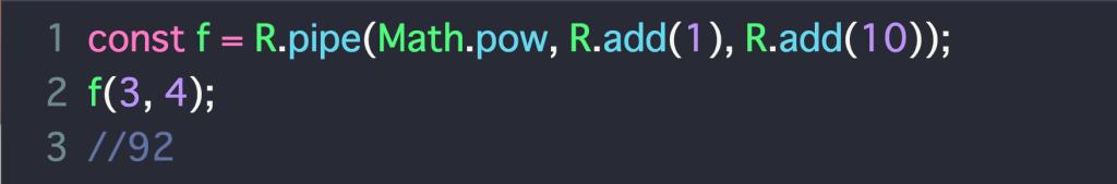 【Ramda/js】関数型Ramda.jsのざっくりな使い方まとめ