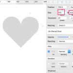 【sketch/無料ダウンロード】ハート型のSVG図形が欲しくて作ったアイコン素材