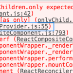 【React対応】invariant.js:42 Uncaught Error: React.Children.only expected to receive a single React element child