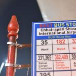 【インド旅/マヒム少年】#2 空港にあるバス停