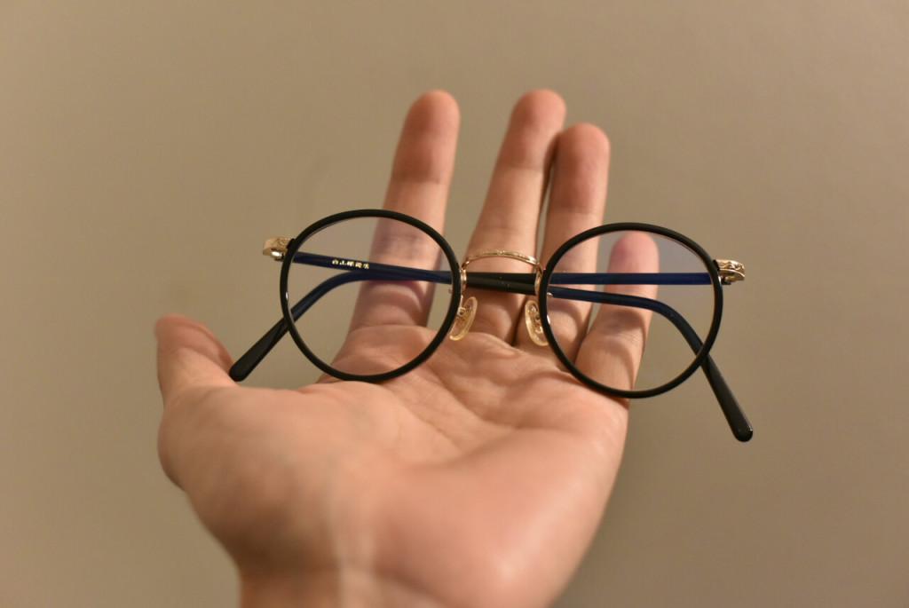 白山眼鏡店の(COMBI BOSTON BLACK)
