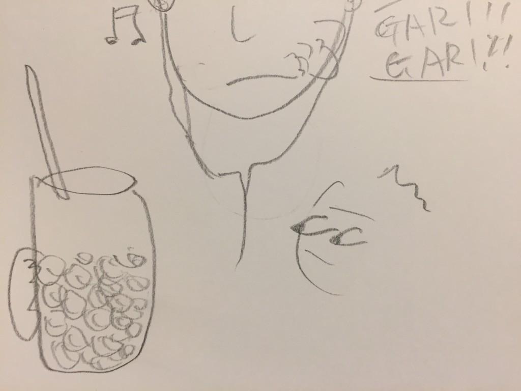 氷をガリガリ食べる人