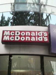 韓国のマクドナルド