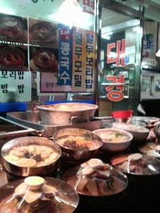韓国の屋台
