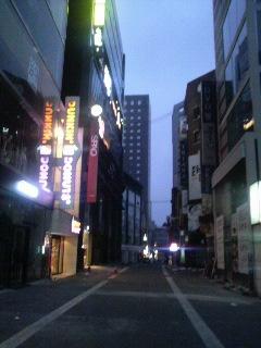 30歳の朝を韓国で迎える