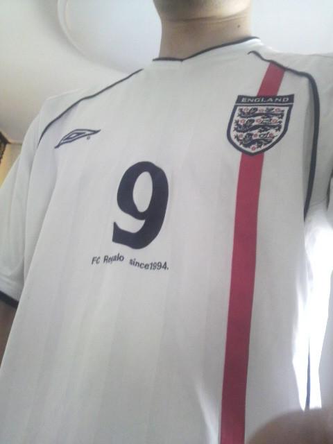 イングランドのユニフォーム