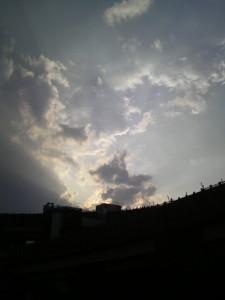 目黒区大橋の空