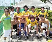新横浜でサッカー