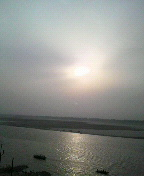 バラナシのガンジス川