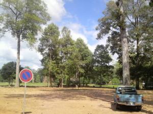 カンボジアアンコールワット周辺