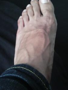 もりたけんじの足