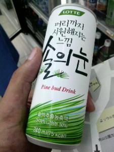 韓国のパイナップルジュース