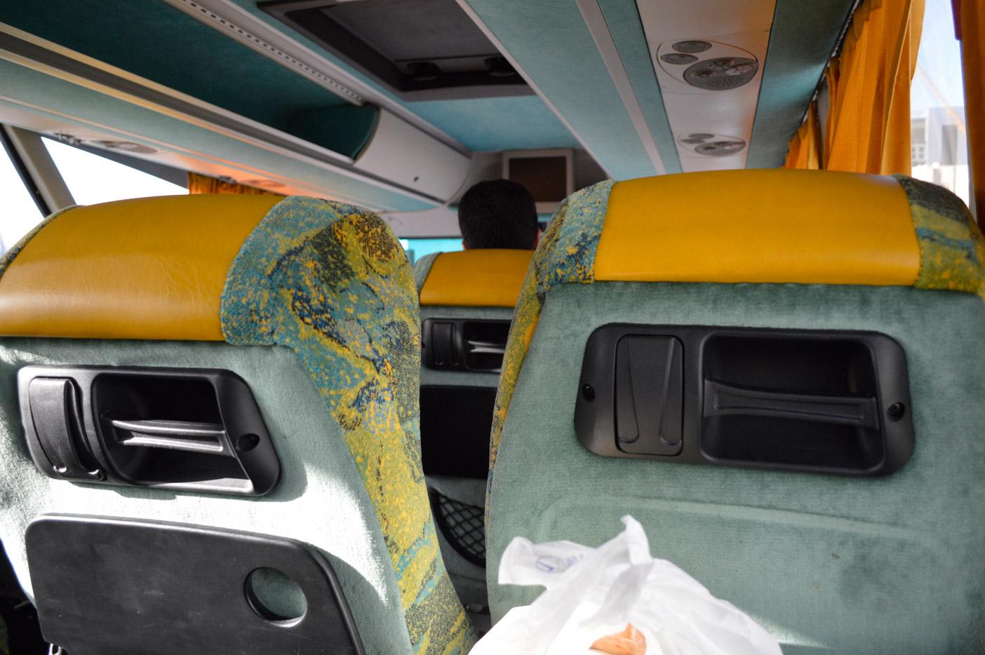 UAE(ドバイ)オマーン(マスカット)間の陸路移動。国際バス乗車