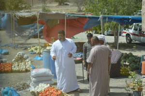 UAE、オマーン国際バスが運転手の私的な用事で停車