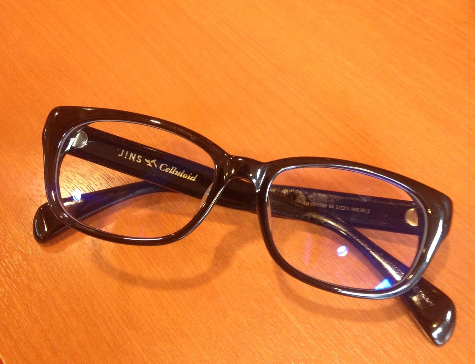 JINSのPCメガネ
