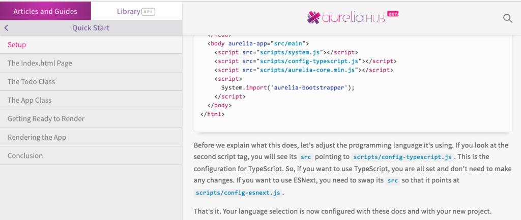 https://aurelia.io/hub.html#/doc/article/aurelia/framework/latest/quick-start/1