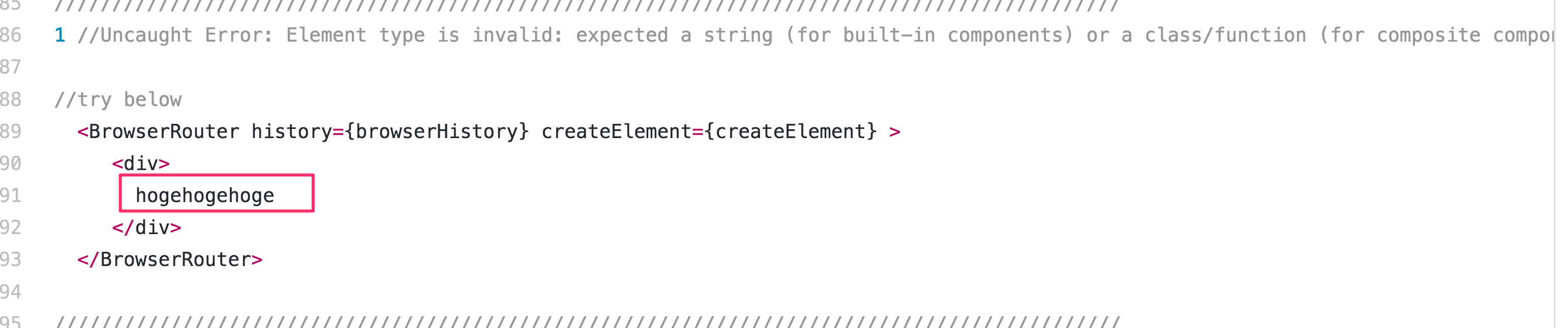 Uncaught Error: Element type is invalid: expected a string (for built-in components) or a class/function (for composite components) but got: undefined. You likely forgot to export your component from the file it's defined in. Check the render method of `App`
