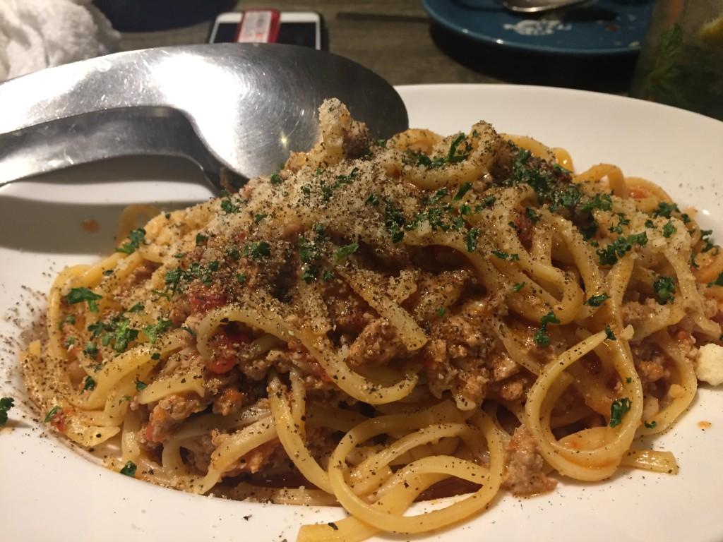 大人のミートスパゲティ