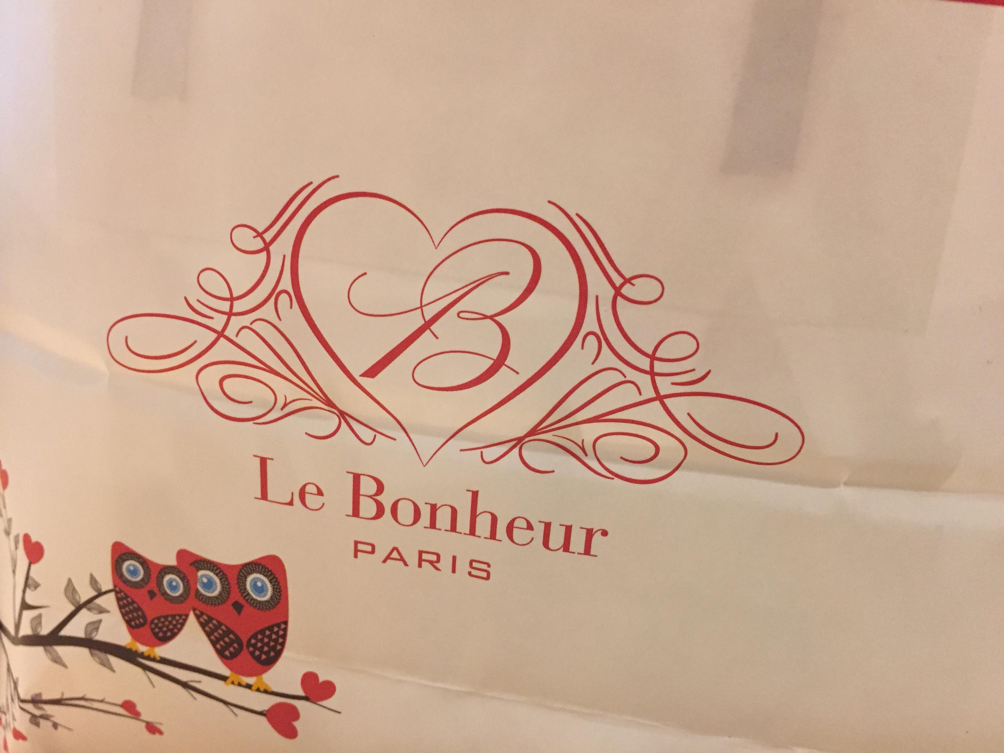 Le Bonheur ル・ボヌールのホワイトデー