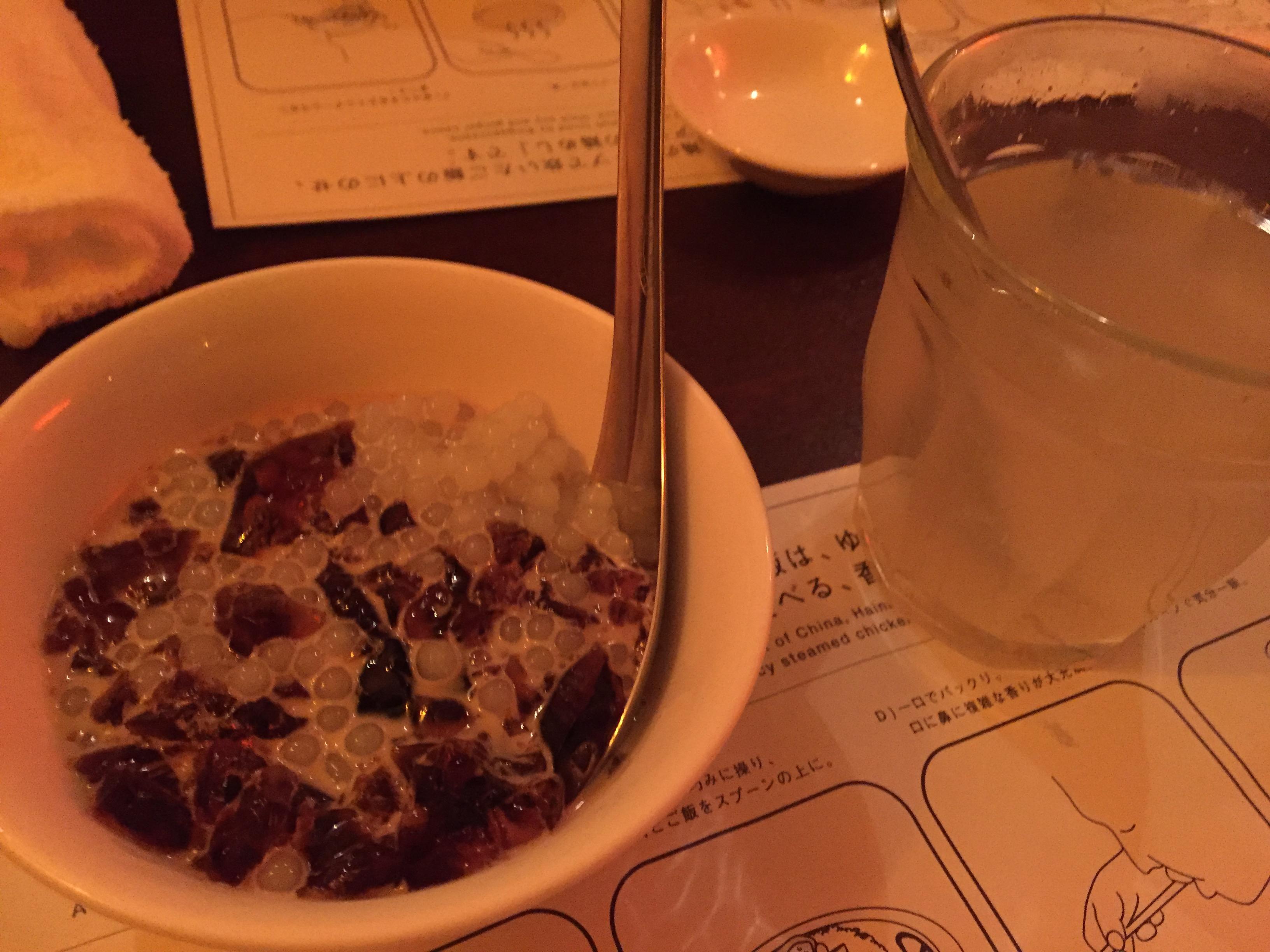 海南鶏飯食堂2 恵比寿店のタピオカ