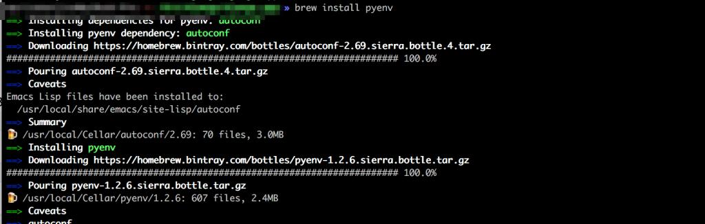 pyenv入れる「Pyton/Django超入門」python manage.py runserverすると「zsh: command not found: python3.6」