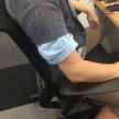 シャツからシャツ出ている