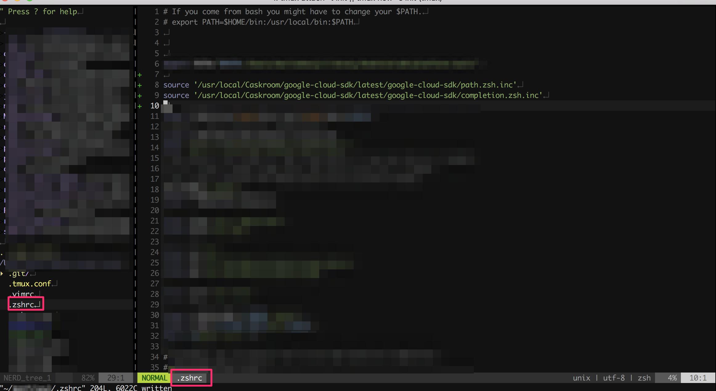 お使いのshellにコマンドを足す使えるようになった様子【GoogleCloudPlatform】HomebrewでGoogle Cloud SDKをMacローカルにインストール
