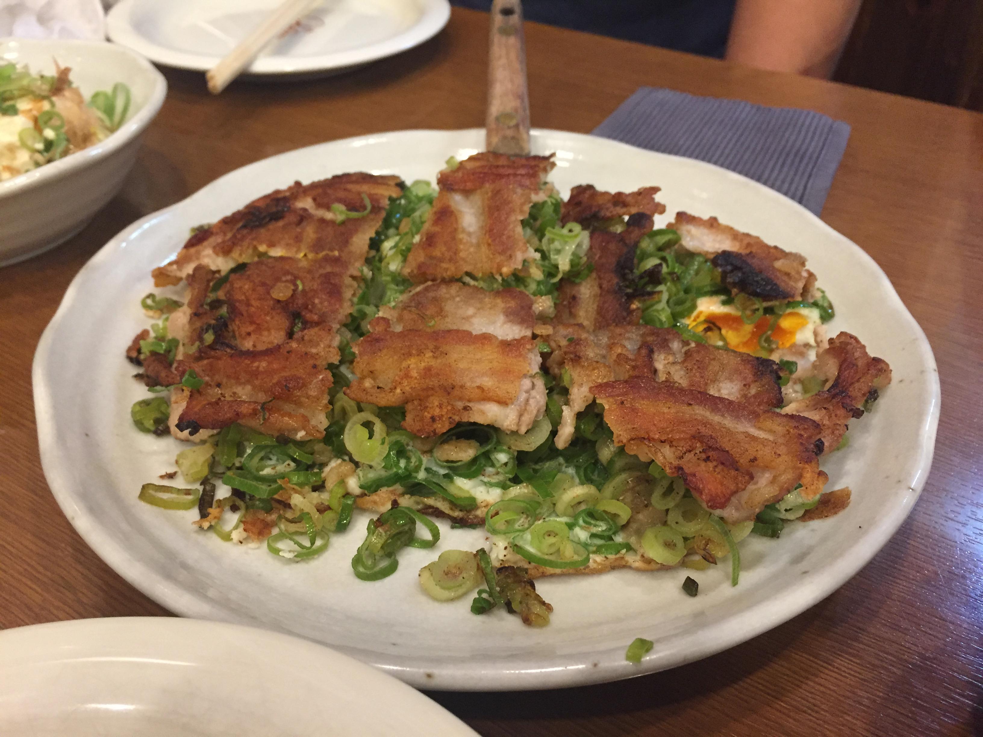 肉玉そば「西新宿にあるぶち旨やの」