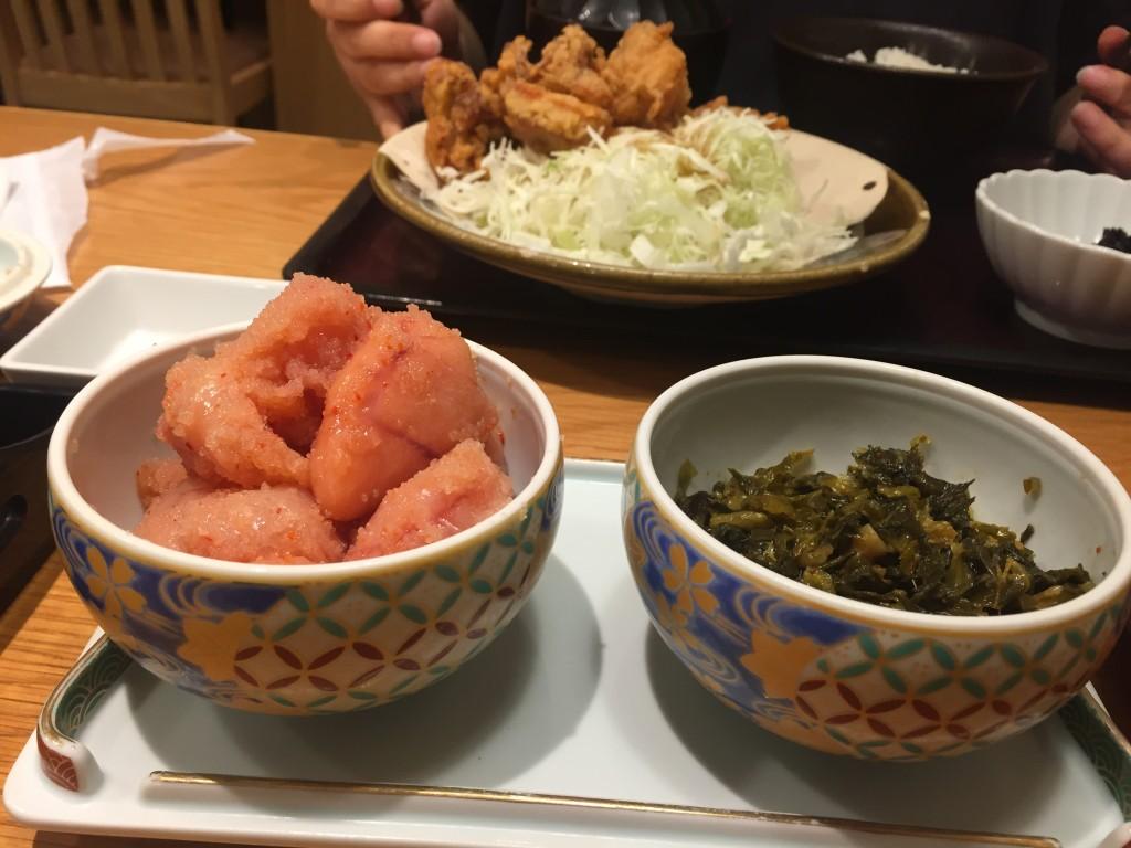 新宿で明太子とご飯が食べ放題のお店「やまや」に行ったんだけど美味しくて