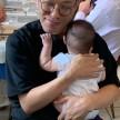 【行った】六本木のガット・ネーロでなみちゃんの赤ちゃんをあやしました