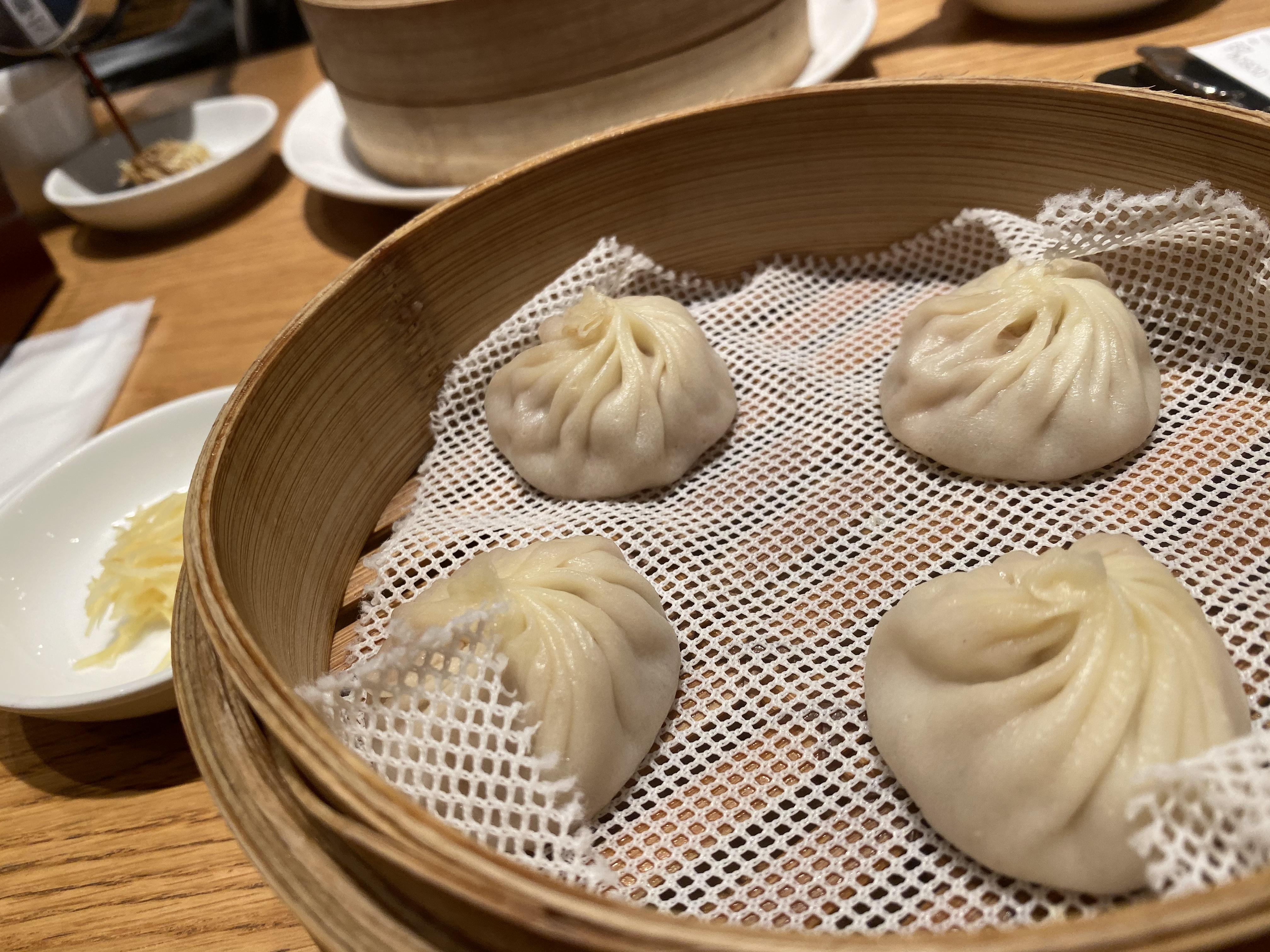 鼎泰豊 恵比寿店のランチ