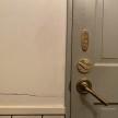 トイレの様子。恵比寿「カフェジタン(CAFE GITANE)」