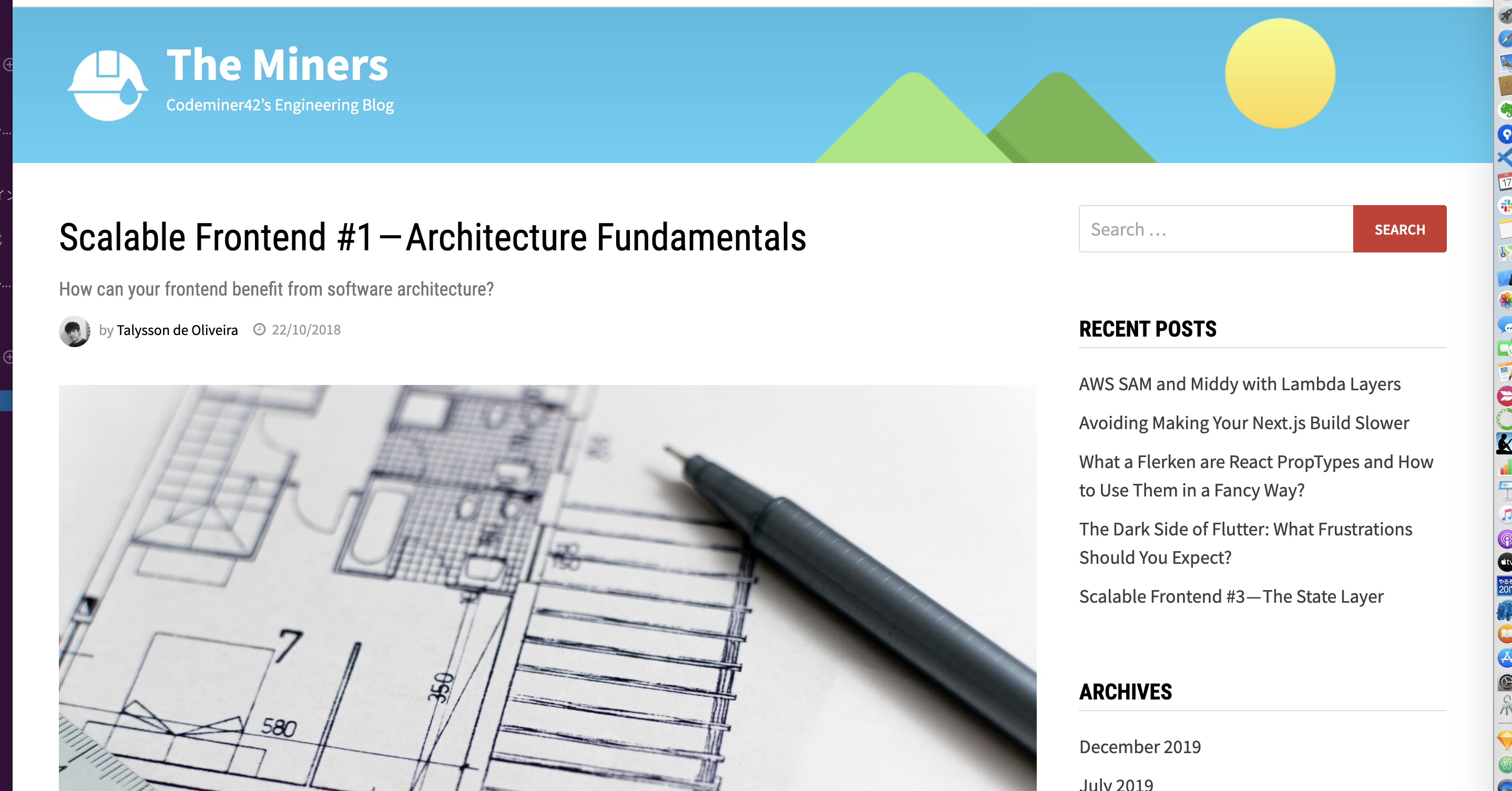 Scalable Frontend #1 — Architecture Fundamentals