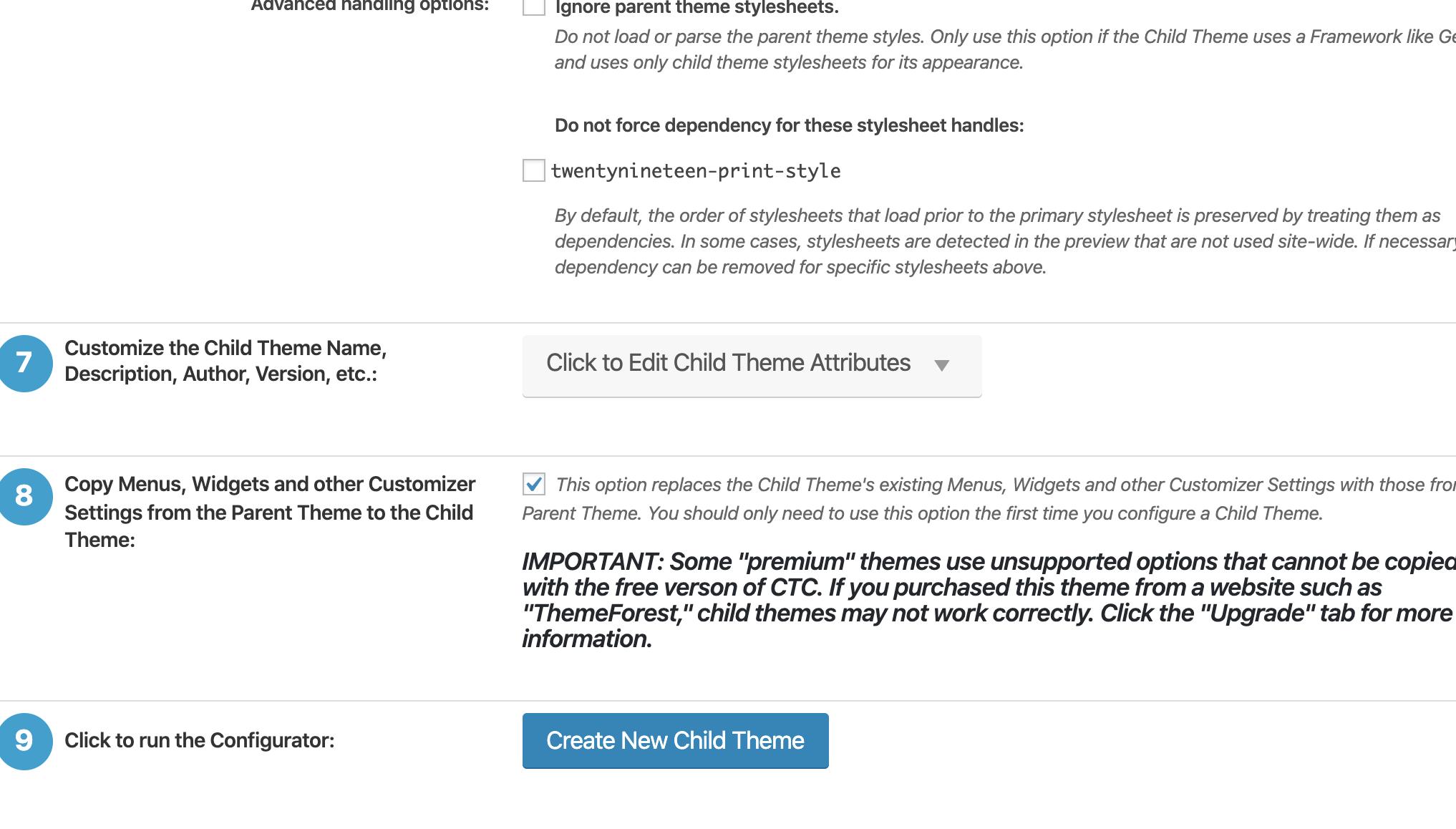 子テーマを作ろうとした【解決!!】急に!!「現在、このページへのアクセスは禁止されています。 サイト管理者の方はページの権限設定等が適切かご確認ください」