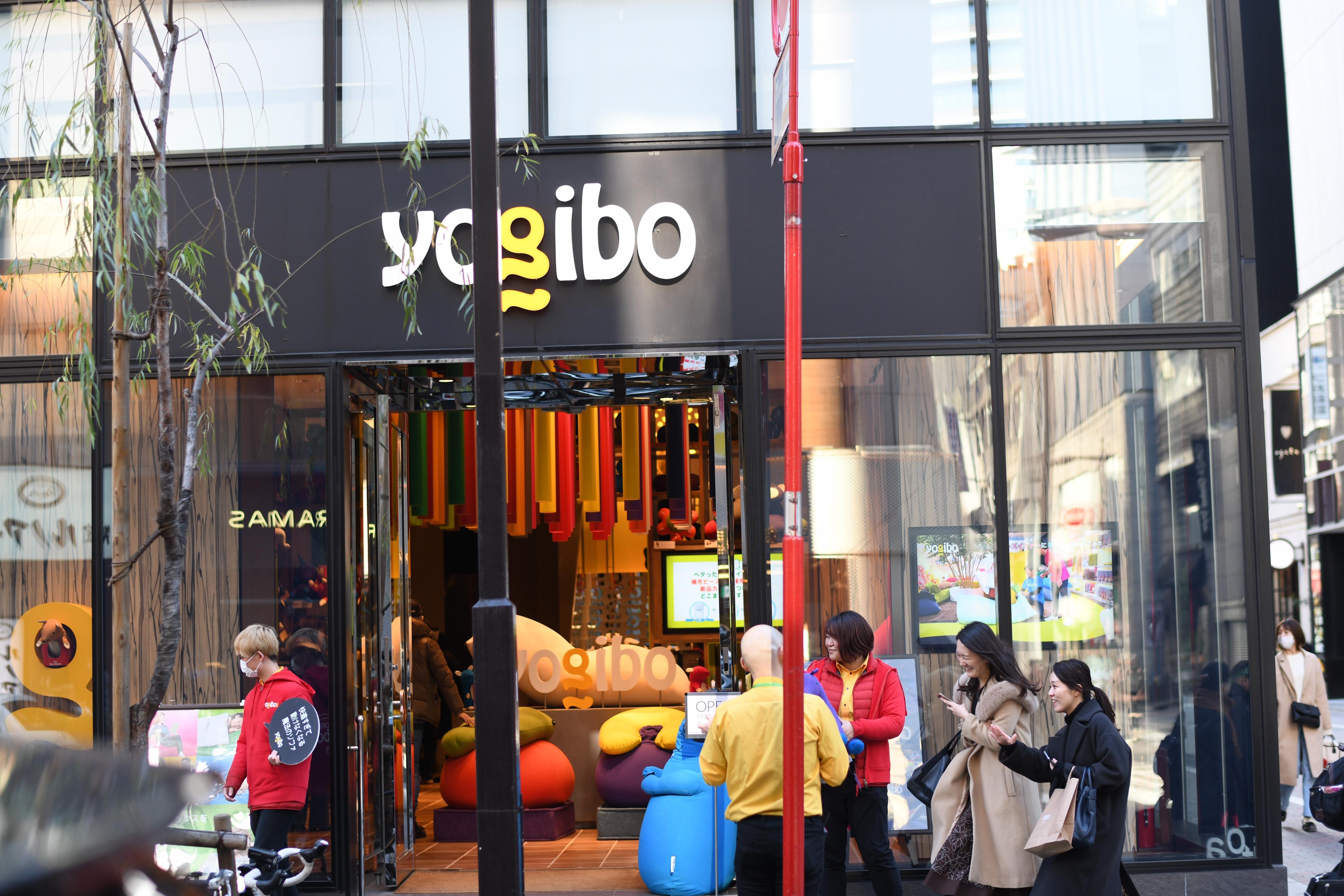 銀座yogiboに行った