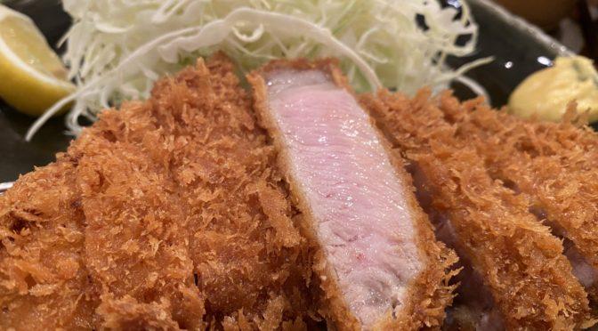 【行ったよ】「富士㐂(ふじき)」 中目黒で一番美味しいとんかつのお店