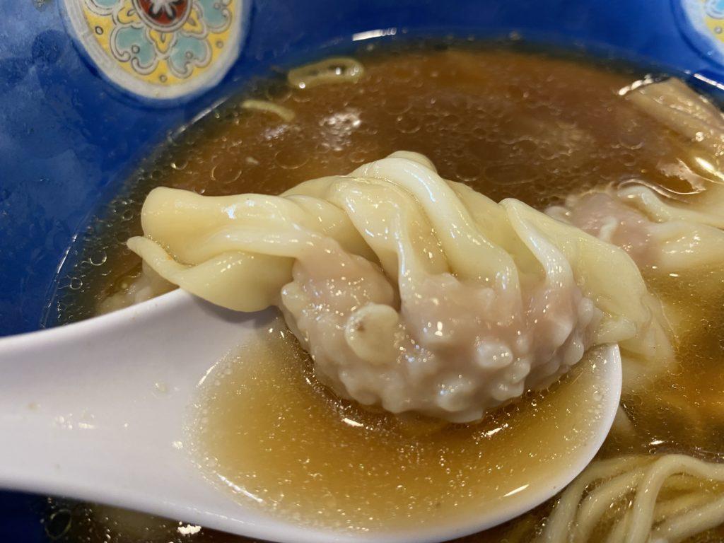 肉ワンタン【行った】浜田山「たんたん亭」(支那そば)で「肉ワンタンメン」