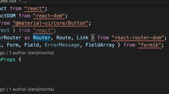 【解決】VScode-TypeScriptで急に「Cannot find module react or its corresponding type declarations.ts(2307)」vscode not dosent work typescript infer