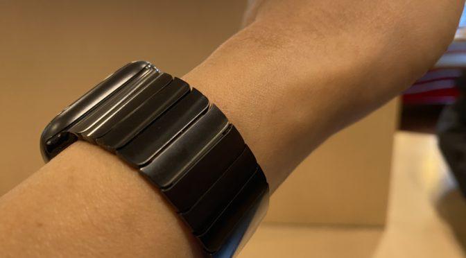 【買う前にしっかり見たい!】Apple Watch Series 6  -44mmスペースグレイアルミニウムケースとスペースブラックリンクブレスレット